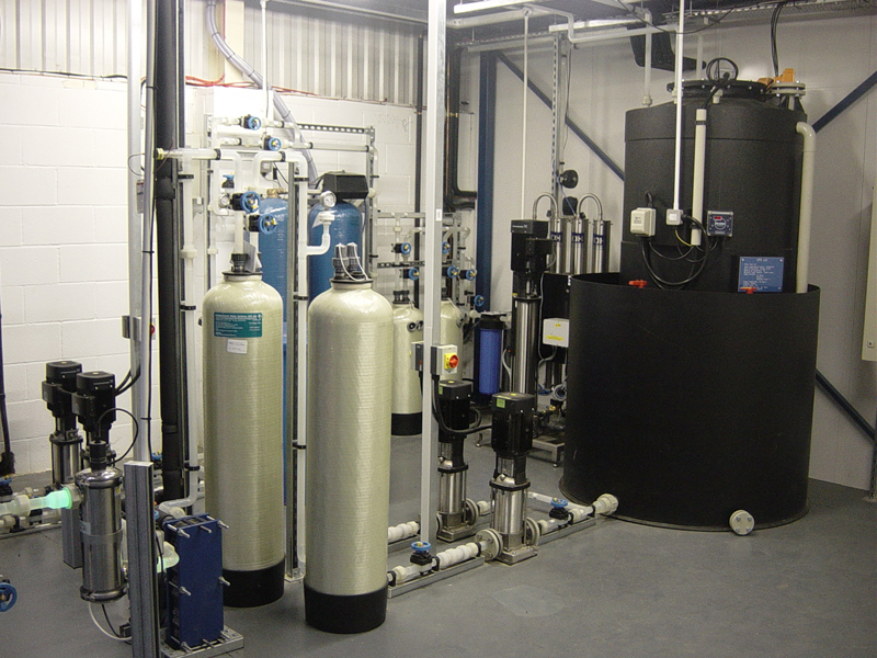 Ultra Pure DI Water Plant